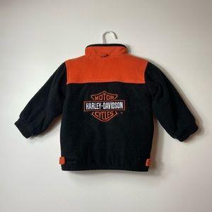 Harley Davidson Boys Fleece Jacket